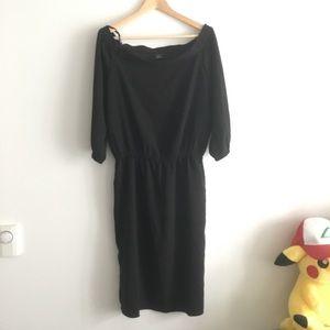 Ann Taylor Off Shoulder Sheath Dress
